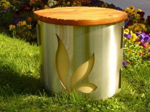 Beheizbare Gartenmöbel zum Sitzen