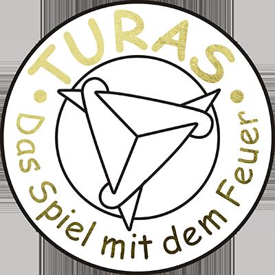 Turas - das Spiel mit dem Feuer - Logo